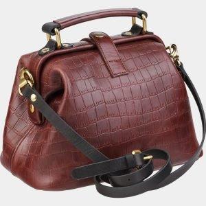 Функциональная светло-коричневая женская сумка ATS-1970 216094