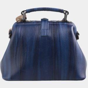 Модная синяя сумка с росписью ATS-2578 214863