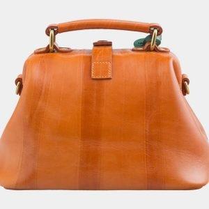 Солидная оранжевая сумка с росписью ATS-2579 214858