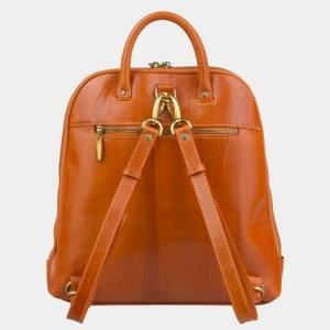 Солидный оранжевый рюкзак с росписью ATS-2576 214873
