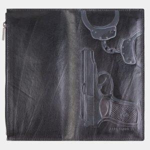 Неповторимый черный портмоне с росписью ATS-2610 214740