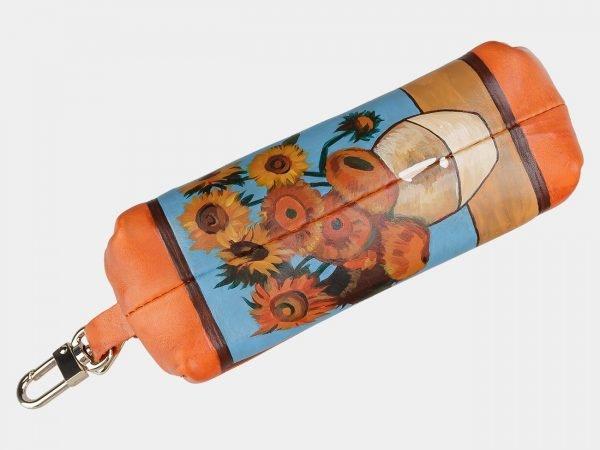 Солидный оранжевый аксессуар с росписью ATS-2030