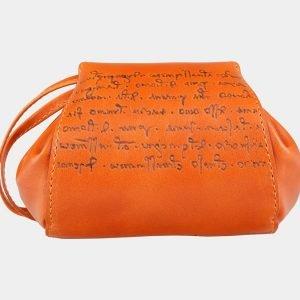 Удобный оранжевый аксессуар с росписью ATS-2031