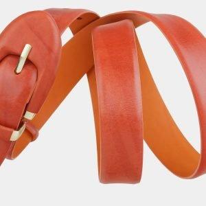 Стильный оранжевый женский модельный ремень ATS-2016 216004