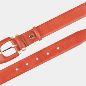 Стильный оранжевый женский модельный ремень ATS-2016 216003