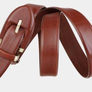 Модный светло-коричневый женский модельный ремень ATS-2021 215988