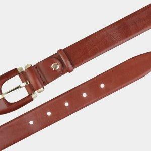 Модный светло-коричневый женский модельный ремень ATS-2021 215987