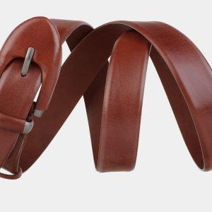Деловой светло-коричневый женский модельный ремень ATS-2026 215972