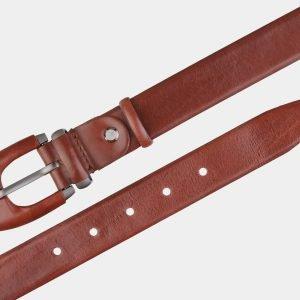 Деловой светло-коричневый женский модельный ремень ATS-2026 215971