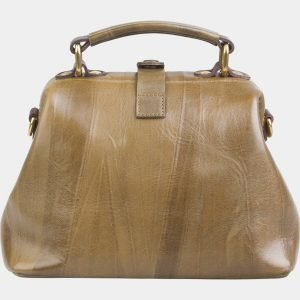 Неповторимая желтовато-зелёная сумка с росписью ATS-2612