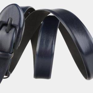 Неповторимый синий женский модельный ремень ATS-2041 215917