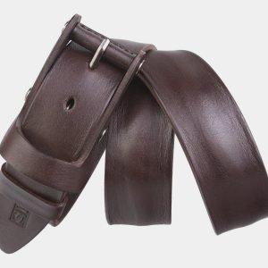 Солидный коричневый мужской джинсовый ремень ATS-2641