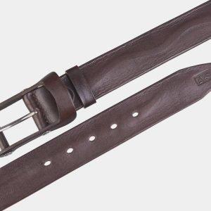 Деловой коричневый мужской джинсовый ремень ATS-2641 214648