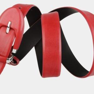 Модный красный женский модельный ремень ATS-2068 215893