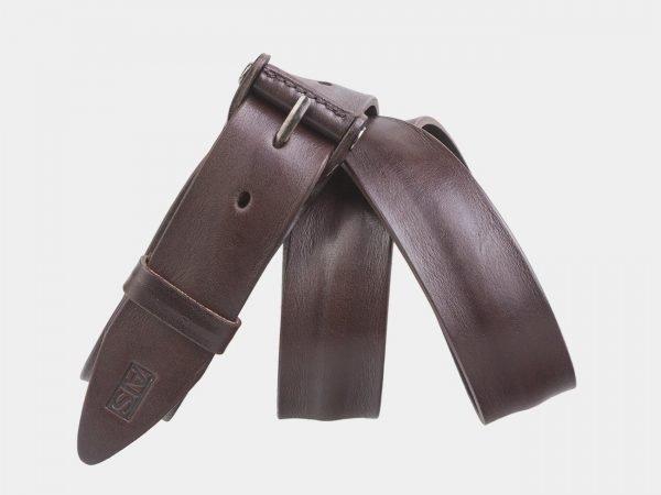 Неповторимый коричневый мужской джинсовый ремень ATS-2638
