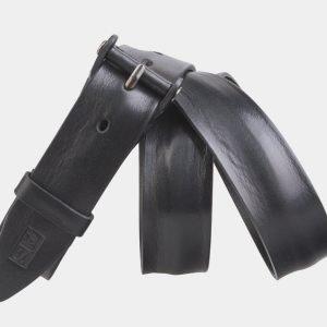 Солидный черный мужской джинсовый ремень ATS-2639 214657