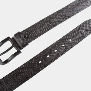 Стильный черный мужской джинсовый ремень ATS-809 217116