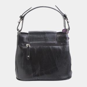 Уникальная черная сумка с росписью ATS-2622 214714