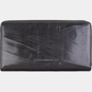 Модный черный портмоне ATS-2616