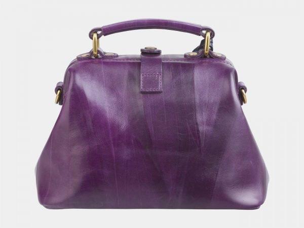 Удобная фиолетовая сумка с росписью ATS-2634