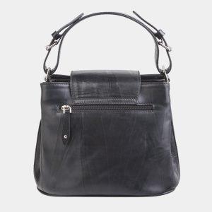 Стильная черная сумка с росписью ATS-2624 214704