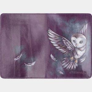 Модный фиолетовый аксессуар с росписью ATS-2652 214616