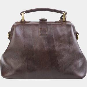 Стильная коричневая сумка с росписью ATS-2683 214560