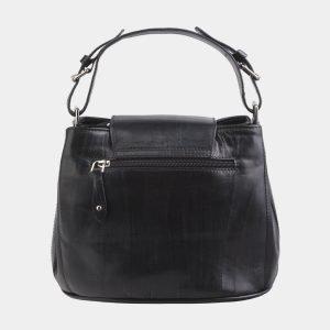 Уникальная черная сумка с росписью ATS-2688 214540