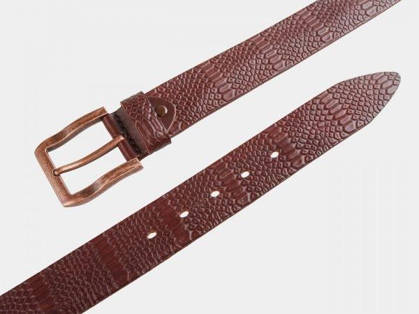 Модный коричневый женский джинсовый ремень ATS-803