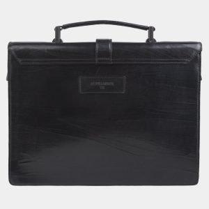 Модный черный портфель с росписью ATS-2696 214517