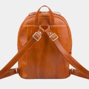 Модный оранжевый рюкзак с росписью ATS-2709 214497