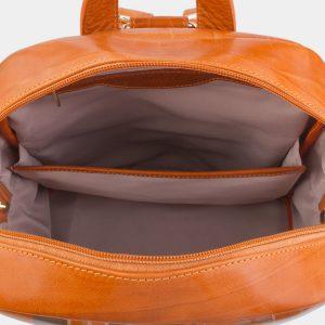 Модный оранжевый рюкзак с росписью ATS-2709 214498