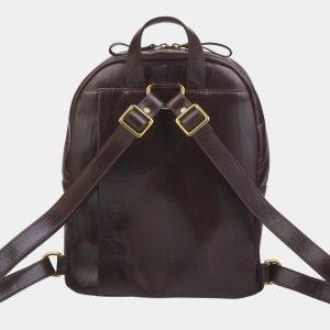 Вместительный коричневый рюкзак с росписью ATS-2710 214492