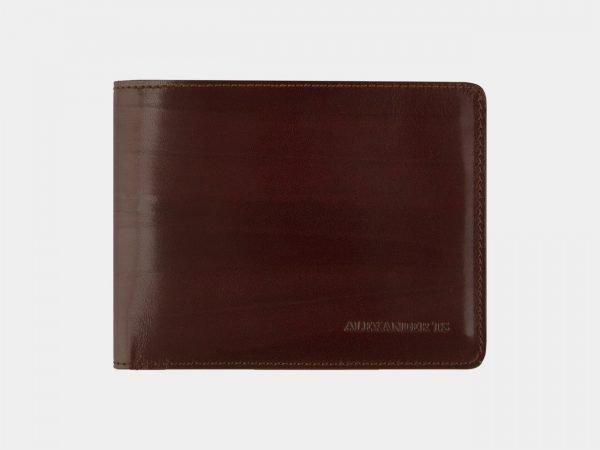 Кожаный светло-коричневый портмоне ATS-2090
