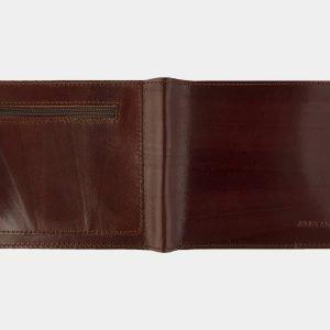 Кожаный светло-коричневый портмоне ATS-2090 215857