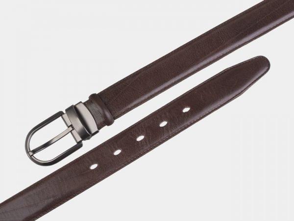 Неповторимый коричневый женский модельный ремень ATS-2722