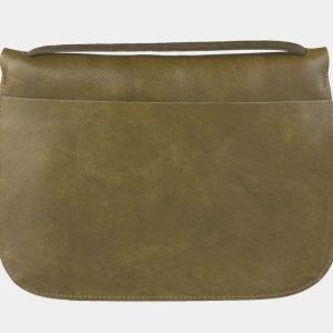Неповторимый желтовато-зелёный клатч с росписью ATS-2116