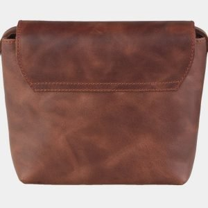 Функциональный светло-коричневый клатч с росписью ATS-2118 215815