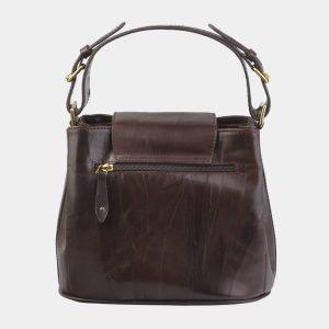 Модная коричневая сумка с росписью ATS-2822 214267