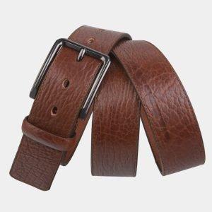 Деловой светло-коричневый мужской джинсовый ремень ATS-2744 214409