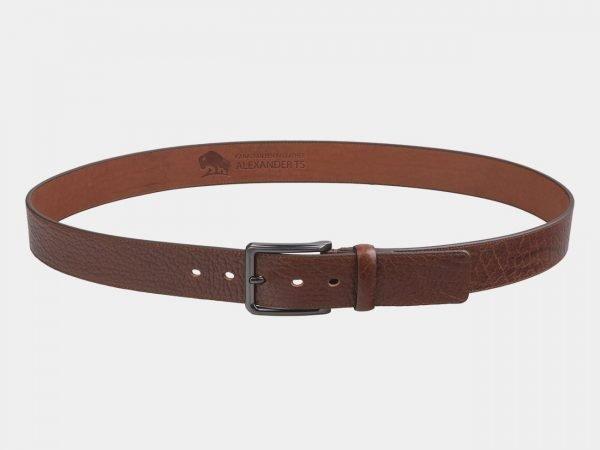 Деловой светло-коричневый мужской джинсовый ремень ATS-2744