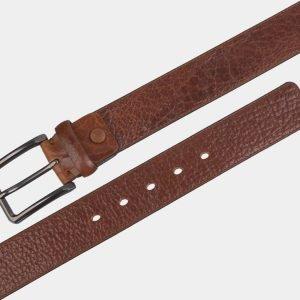 Деловой светло-коричневый мужской джинсовый ремень ATS-2744 214408