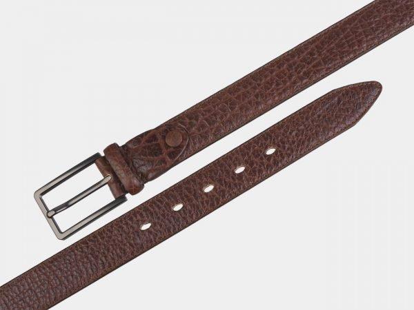 Деловой коричневый мужской классический ремень ATS-2749