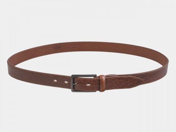 Стильный светло-коричневый мужской классический ремень ATS-2750