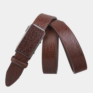 Уникальный светло-коричневый мужской классический ремень ATS-2752