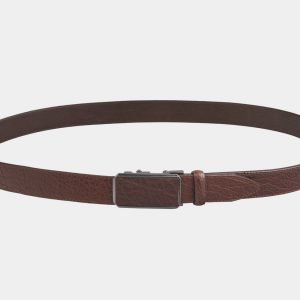 Удобный светло-коричневый мужской классический ремень ATS-2752