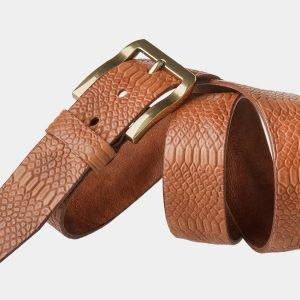 Стильный темно-оранжевый женский джинсовый ремень ATS-804 217125