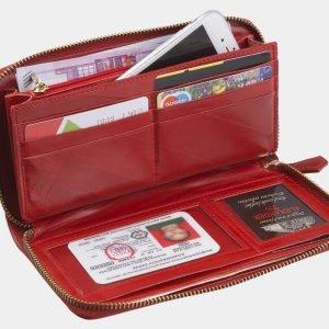 Удобный красный портмоне ATS-2761 214360