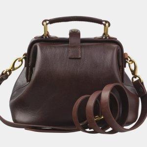 Удобная коричневая женская сумка ATS-2765