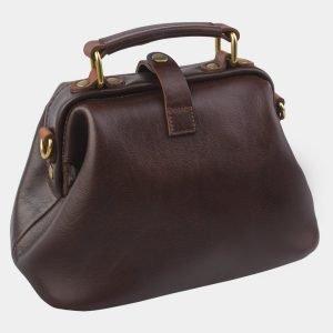 Удобная коричневая женская сумка ATS-2765 214351